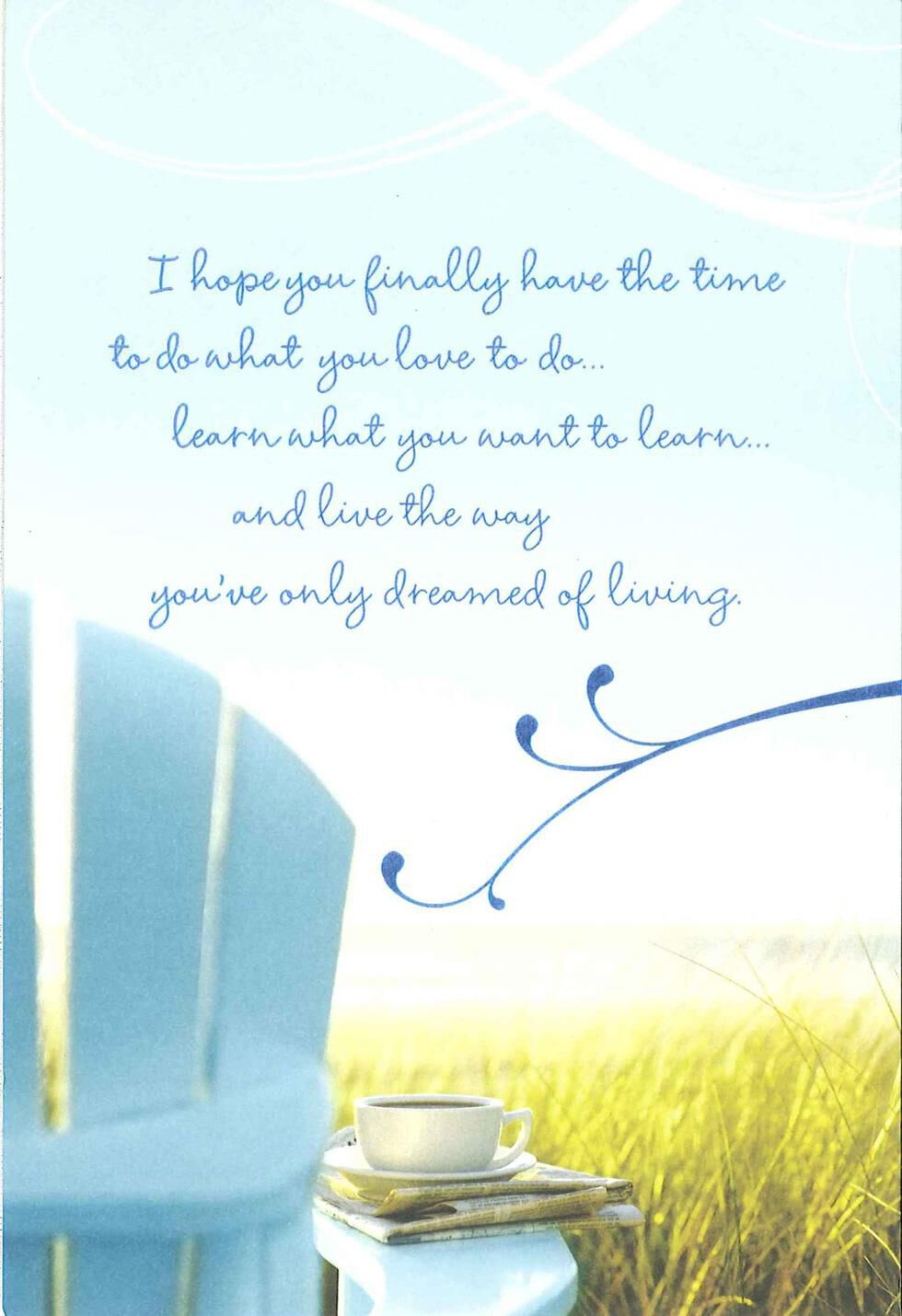 What To Write In A Retirement Card >> Exciting New Chapter Retirement Card - Greeting Cards - Hallmark