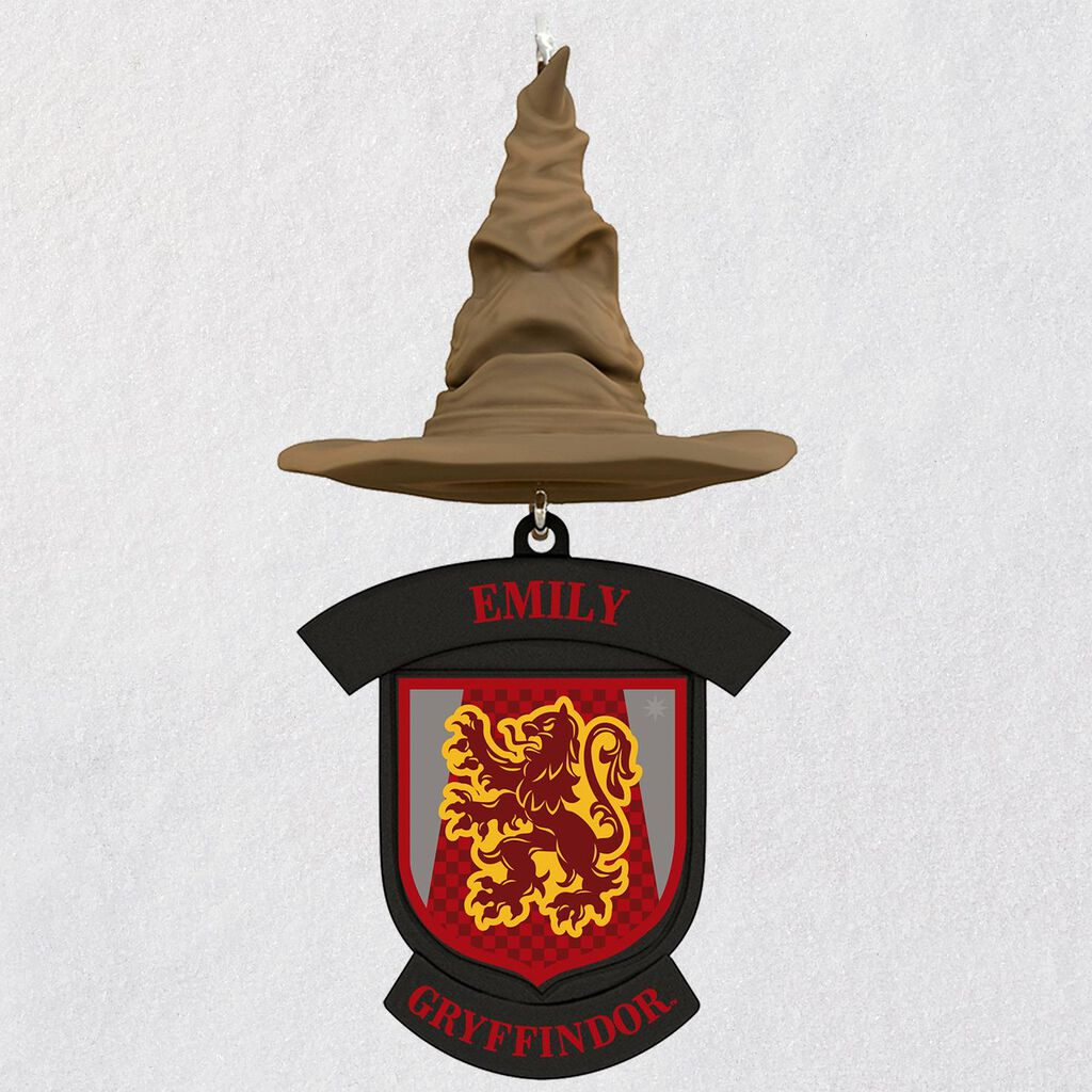 e38c7aabdcb06 Harry Potter™ Sorting Hat Personalized Ornament - Personalized ...