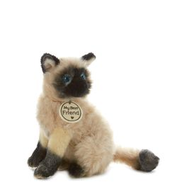 Seal Point Cat Small Stuffed Animal, , large