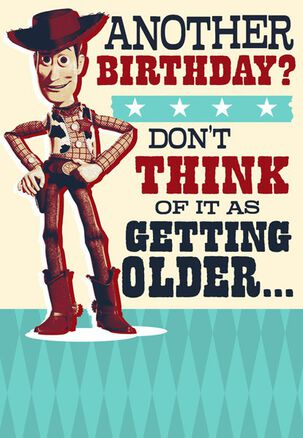 Vintage Woody Birthday Card