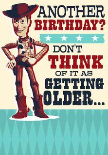 Vintage Woody Birthday Card,