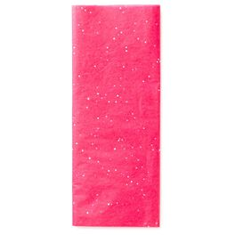 Hot Pink With Gems Tissue Paper, , large