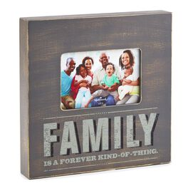 Family Forever Wooden Box Picture Frame, 4x6, , large