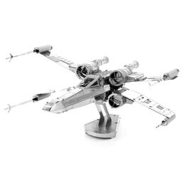 Fascinations 257 Star Wars X-Wing Starfighter Metal Earth 3D Metal Model Kit, , large