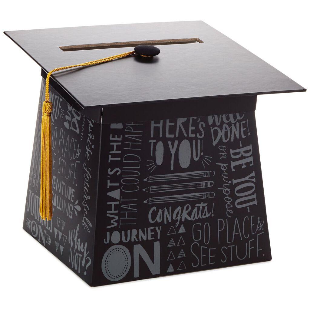 Graduation Cap Card Box Decorative Accessories Hallmark