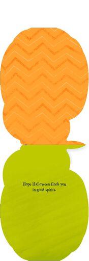 Adult Pumpkin Drink Musical Halloween Card,