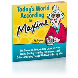 Today's World According to Maxine Gift Book, , large