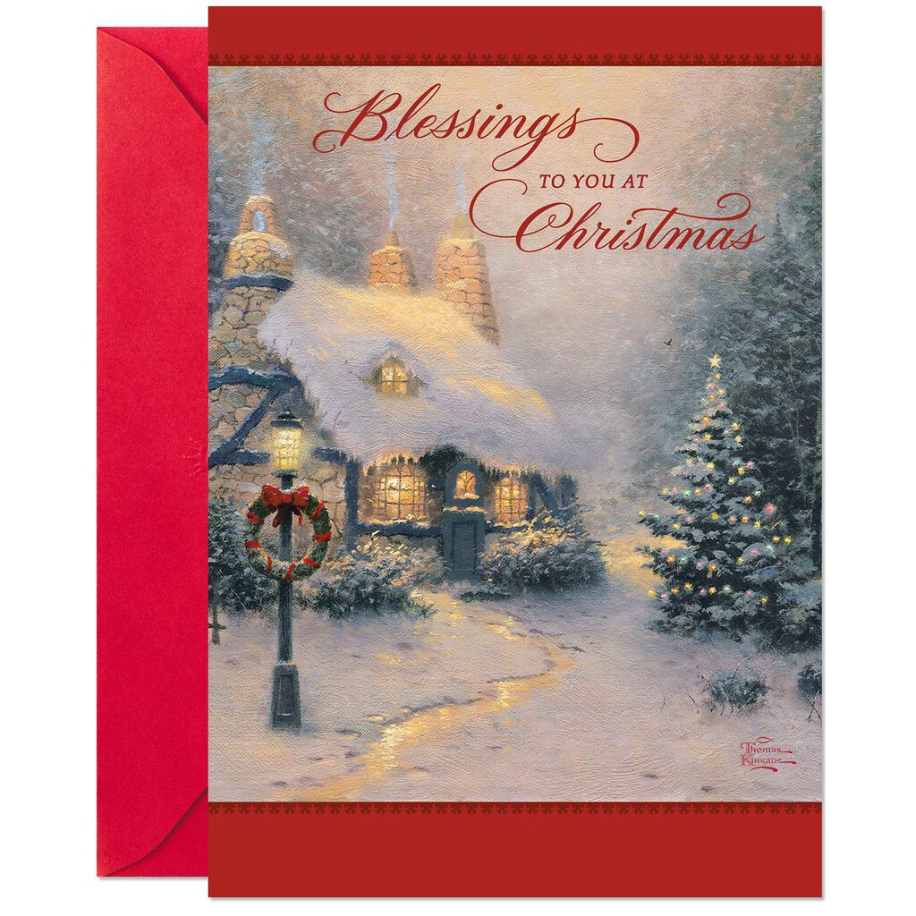 Thomas Kinkade Christmas Cards, Pack of 10 - Boxed Cards - Hallmark