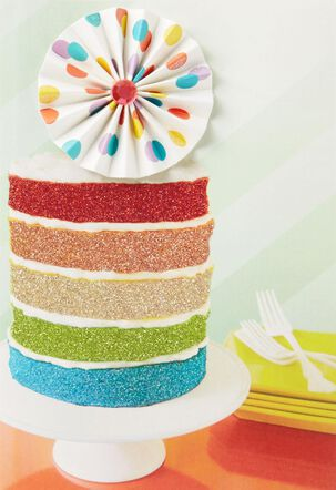 Cupcake of Life Birthday Card