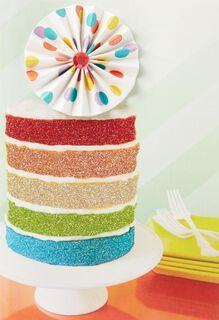 Cupcake of Life Birthday Card,