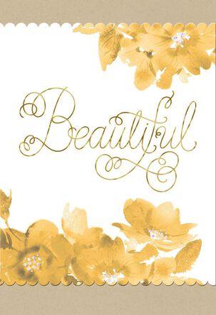 Beautiful Woman Love Card