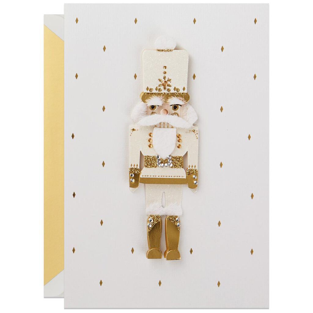 Nutcracker Soldier Christmas Card - Greeting Cards - Hallmark