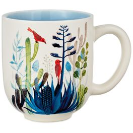 Colorful Cactus Mug, 12 oz., , large