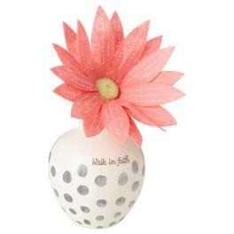 Walk in Faith Vase, , large
