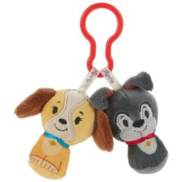 Disney Lady and the Tramp itty bittys® Clippys Stuffed Animals, , large