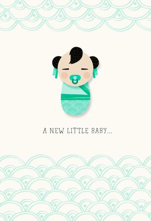 Infinite Goodness New Baby Card