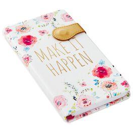 Haute Girls™ Floral Make It Happen Slim Journal, , large