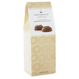 6.5 oz. Coconut & Chocolate Haystacks Candy in Gift Box, , large