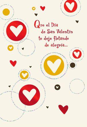 Joyful Hearts Spanish-Language Valentine's Day Card