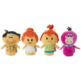 itty bittys® The Flintstones™ Collector Set Stuffed Animals, Set of 4, , large