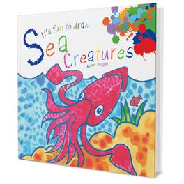 It's Fun to Draw Sea Creatures Book by Mark Bergin, , large