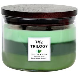WoodWick® Trilogy 3-Wick Candle, Winter Stroll, , large