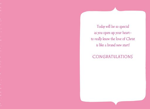 The Love of Christ First Communion Card,