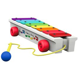 FISHER-PRICE™ Pull-a-Tune Xylophone Ornament, , large