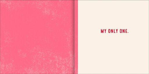 You're the One Musical Valentine's Day Card,