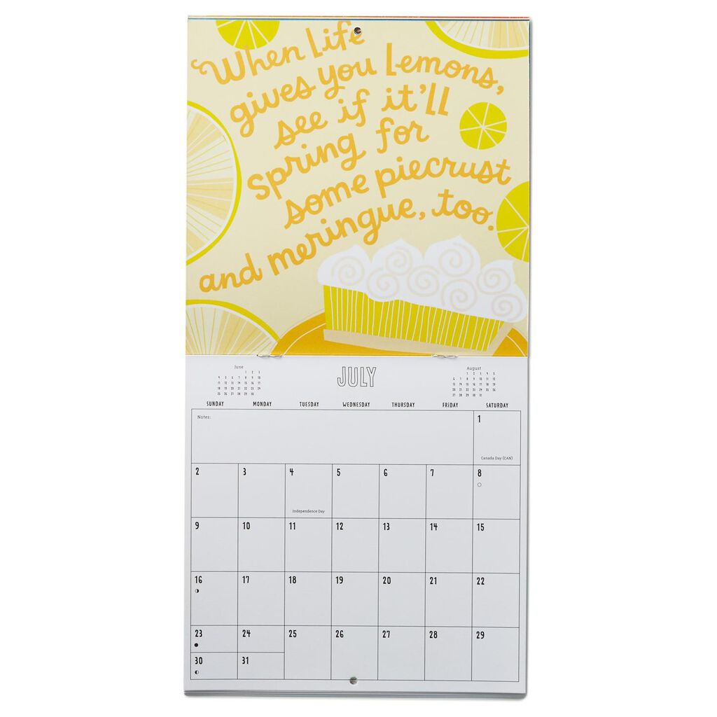 Quotes Quips 2017 Mini Wall Calendar Hallmark