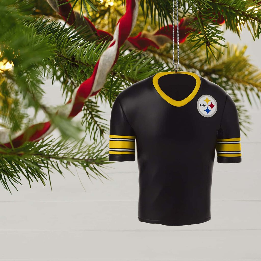Pittsburgh Steelers Jersey Ornament Keepsake Ornaments Hallmark