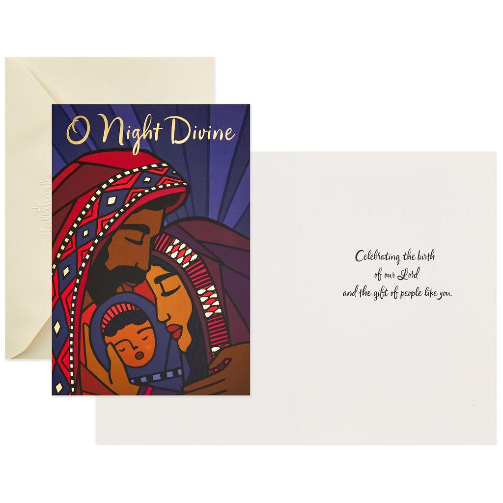 O Night Divine Christmas Cards, Box of 16 - Boxed Cards - Hallmark