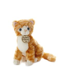 Tabby Cat Small Stuffed Animal, , large