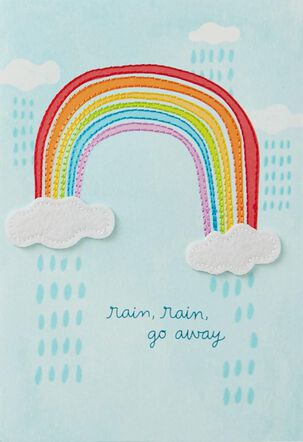 A Rainbow for You Care and Concern Card
