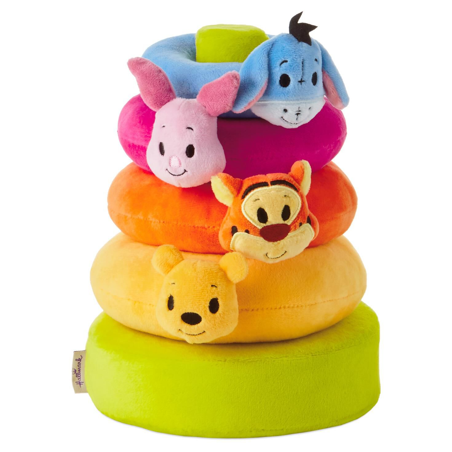 itty bittys® Winnie the Pooh Baby Stuffed Animal Stacker - Baby Essentials  - Hallmark 0aa50cfefb5a