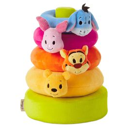 itty bittys® Winnie the Pooh Baby Stuffed Animal Stacker, , large