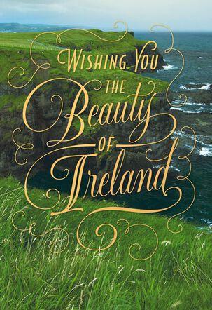 Irish Landscape St. Patrick's Day Card