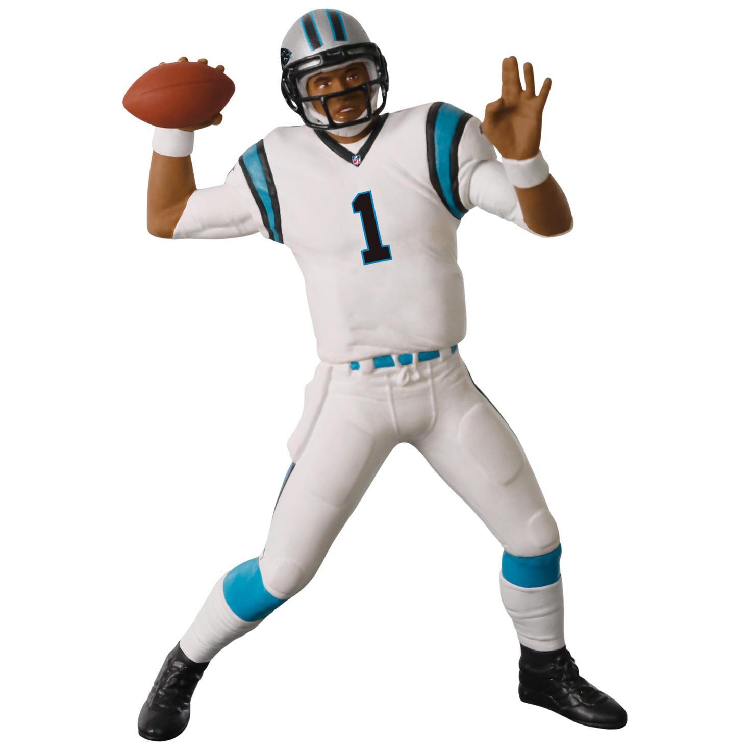 Football player ornament - Football Legends Carolina Panthers Cam Newton Ornament Keepsake Ornaments Hallmark