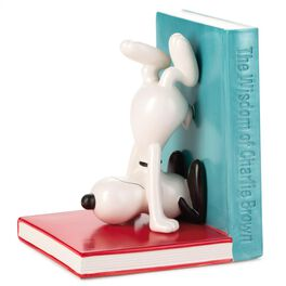 Peanuts®  Snoopy Ceramic Bookend, , large