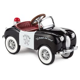 1949 Gillham Police Car Kiddie Car Classics Collectible Toy, , large