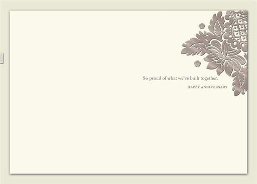 Life, Love, Home Anniversary Card,