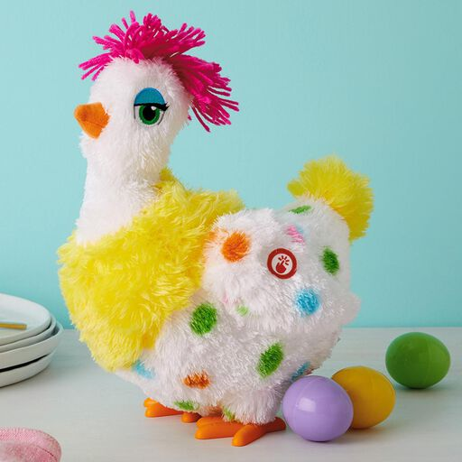 483ac743fdbc9 ... Sassy Squawkin  Egg Droppin  Hen Musical Stuffed Animal With Motion