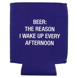 About Face Beer Is the Reason I Wake Up Koozie, , large