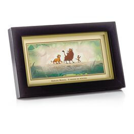 The Lion King Timon and Pumbaa Framed Print, , large