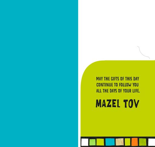 Today Is Your Bar Mitzvah Money Holder Card,