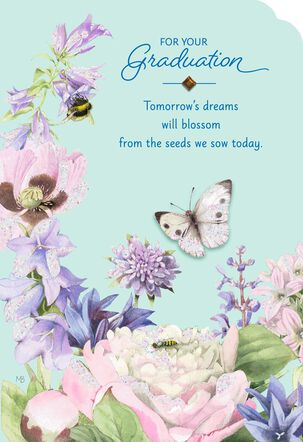 Marjolein Bastin Dreams Blossom Graduation Card