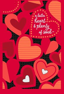 Heart and Soul Valentine's Day Card,
