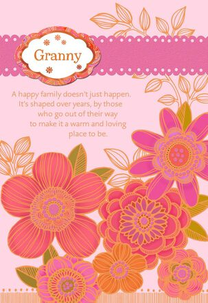 Special Names for Grandma with Personalization Stickers Birthday Card