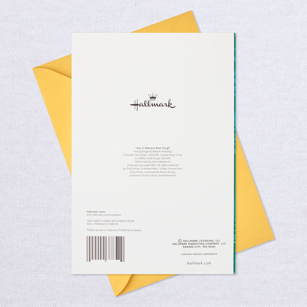 Musical Birthday Card With Motion