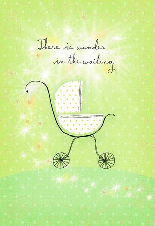 Baby Buggy New Baby Card